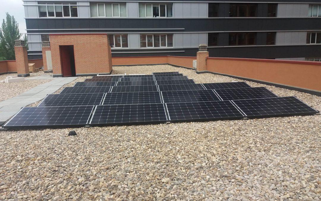 Sainsol Energía finaliza con éxito la instalación fotovoltaica de autoconsumo en la sede de Podo.